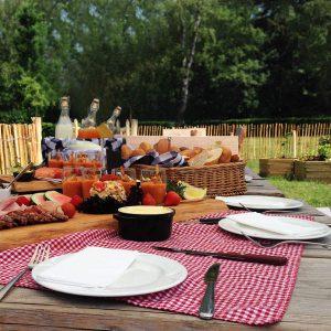 Vergaderen en eten