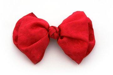 Rode vlinderdas als je durft!